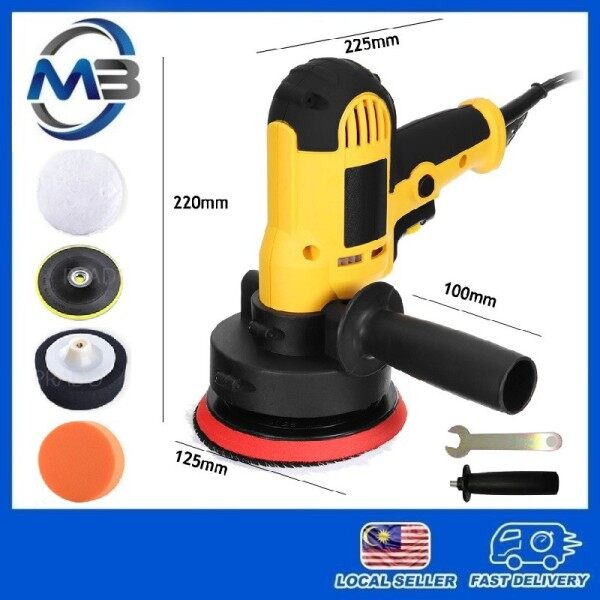 700W Multipurpose Car Polisher Sander Buffer Polishing Machine Set Included Accessories With Variable Speed