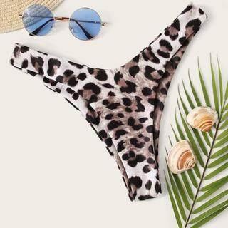 Auburyshop Đồ Bơi Nữ Bikini Gợi Cảm Đồ Bơi Họa Tiết Da Báo Tắm Beachwear Bơi Quần Short, Vải Chất Lượng Cao, Đẹp, Gợi Cảm, Sẵn Sàng Giao Hàng, Phong Cách Hàn Quốc, Quần Bơi Ba Điểm, Quần Bơi Đi Biển thumbnail