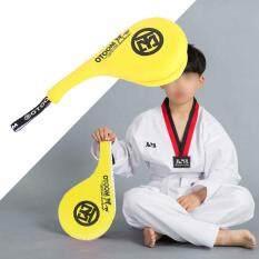 epayst Taekwondo Trẻ Tập Luyện Tay Bọt Đệm Đá Chân Mục Tiêu Công Cụ Vàng