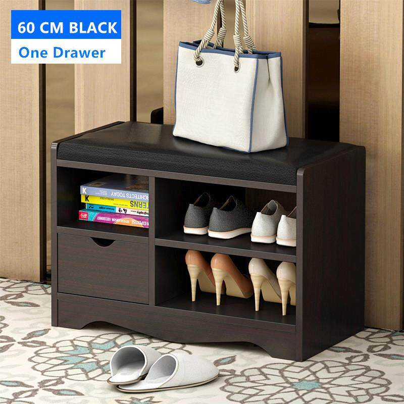 Shoe Storage Bench with Storage Stool Shoe Rack Cabinet 60 CM by Olive Al Home