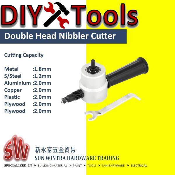 NIBBLER CUTTER FOR DRILLING MACHINES