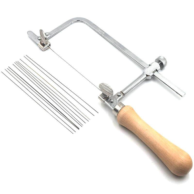 Professional Adjustable Saw Bow Wooden Handle Of Jewelry Saw Frame Hand Tools JewelerS Saw Frame