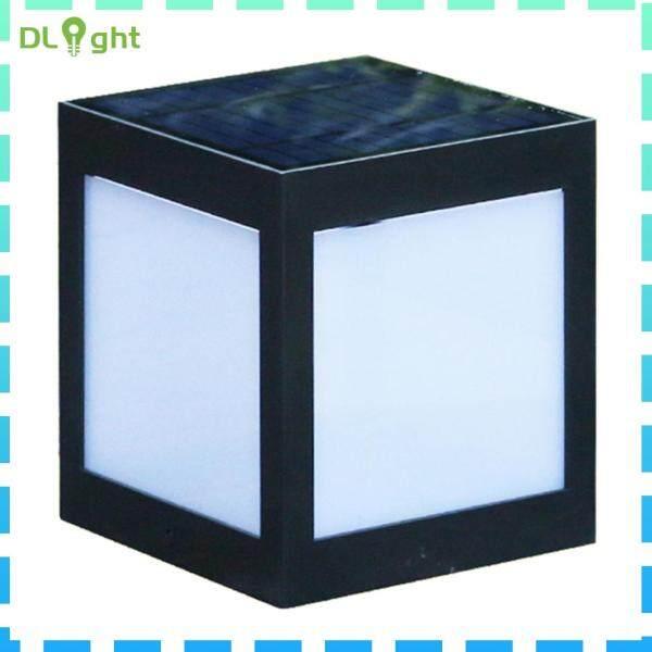 Đèn LED Đứng Năng Lượng Mặt Trời ABS, Đèn Biệt Thự, Sân Vườn Ngoài Trời, Chống Nước