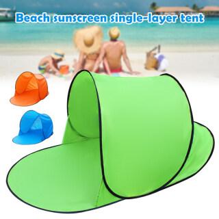 Lều Bãi Biển Tán Với Túi Đựng Mái Che Nắng Tức Thì Bật Lên Cho Một Người Dành Cho Trẻ Em, Không Cài Đặt thumbnail