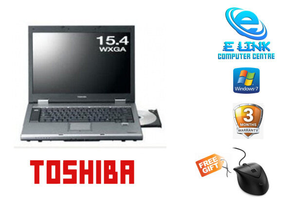 Refurbished  Notebook Toshiba Dynabook Satellite K21 200E/W Intel Core 2 Duo / 2GB-4GB RAM / 80GB HDD / 120GB-240GB SSD / 15.4 INCH Malaysia
