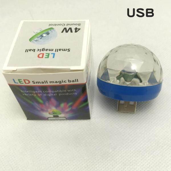 JS Nhỏ Có Thể Sạc Qua USB Điều Khiển Bằng Giọng Nói Bóng Ma Thuật Đèn