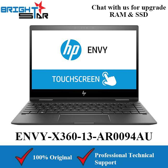HP ENVY X360 13-AR0094AU Black (AMD Ryzen 5-3500U/8GB/256GB SSD/AMD Vega 8/13.3Inch/Touch Screen) Malaysia