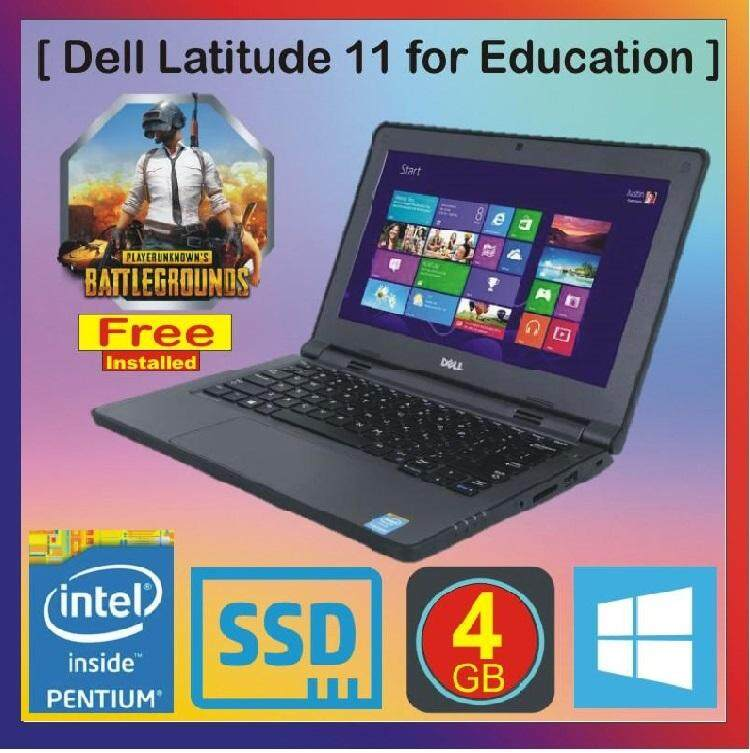 Dell Latitude 3150 Quad Core 1.60Ghz 4Gb Ram 128Gb SSD AC Wifi Win 10 Malaysia