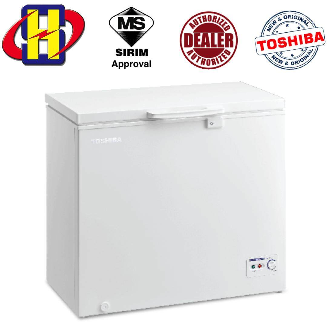Toshiba Chest Freezer CR-A198M / CR-A198 M 198L 2 IN 1 Chest Freezer