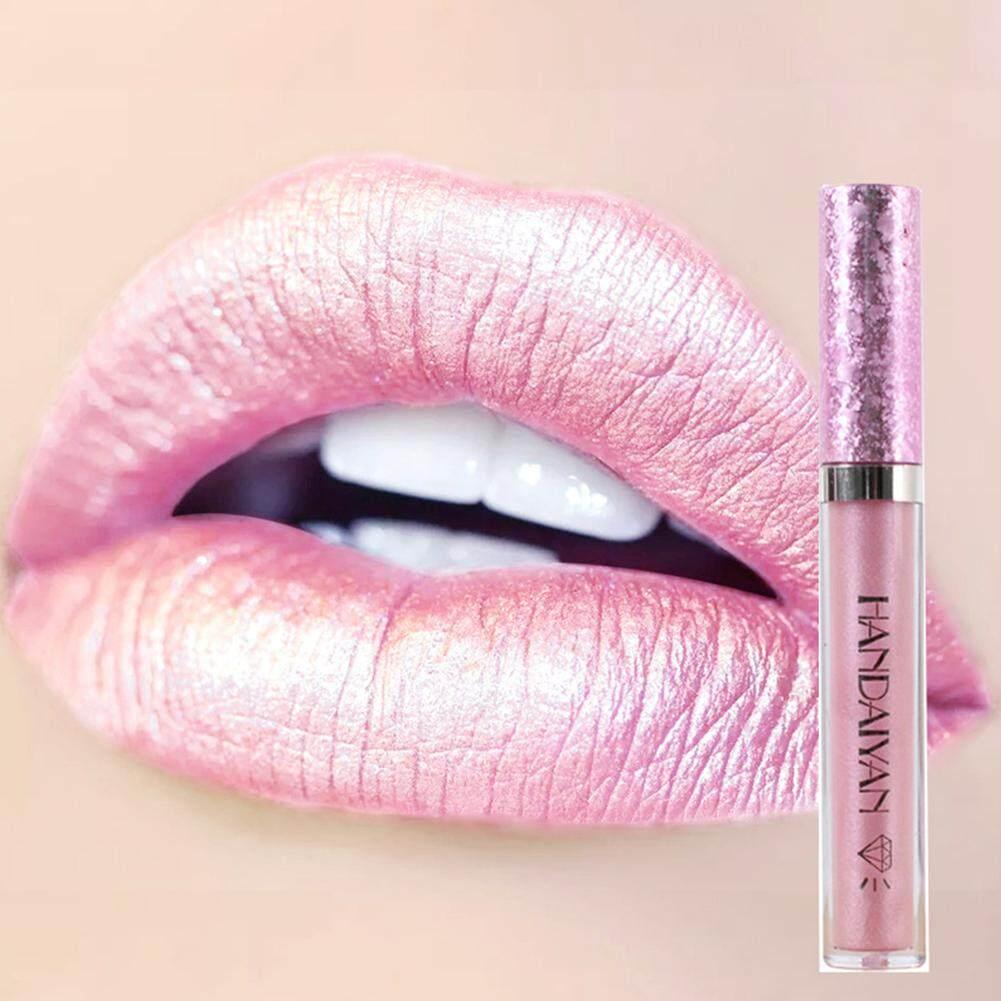 Gaya Baru Liquid Lip Gloss Matte Lipstik Mengkilap Kosmetik Tahan Lama 1 Pcs