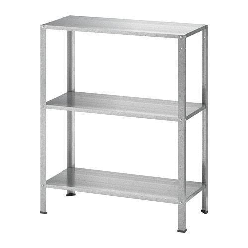 IKEA HYLLIS Shelf unit, indoor/outdoor, 60x27x74 cm