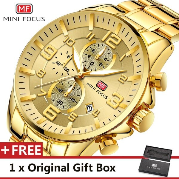 MINIFOCUS MINI FOCUS MF0278G Top Luxury Brand Watch For Man Fashion Sports Men Quartz Watches Trend Wristwatch Gift For Male jam tangan lelaki Malaysia