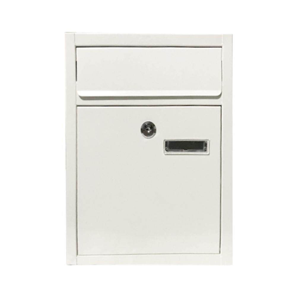Greenbox Outdoor Wall Mount Security Locking Mailbox Letter Newspaper Magazine Post Box