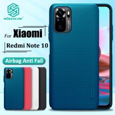 Nillkin Vỏ Cứng Ốp Điện Thoại Xiaomi Redmi Note 10 / Redmi Note 10 Pro, Ốp Lưng Bảo Vệ Chống Sốc PC Siêu Mờ