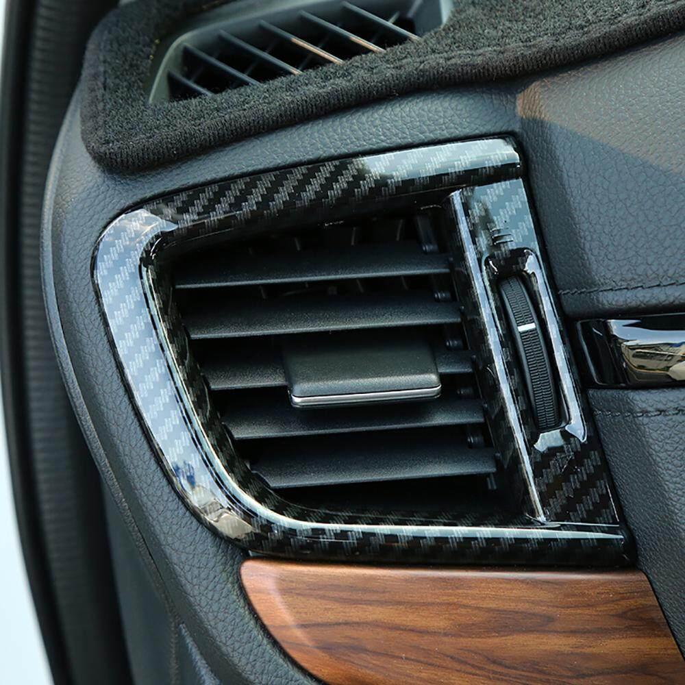 Motorshow Mobil Interior Penutup Udara, Sisi Otomatis Bingkai Saluran Udara 2 Pcs Custom Cocok Untuk Honda Cr-V 2017 2018 Model (carbon Fiber) By Motorshow Club.