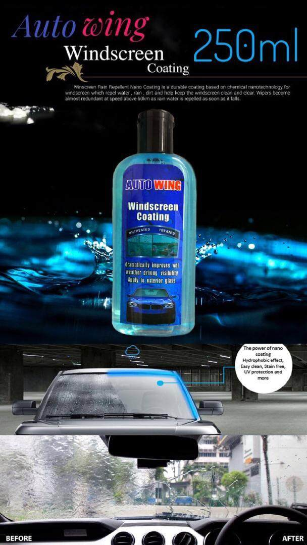 Nano Windscreen Coating Liquid Rain Away Autowing DIY