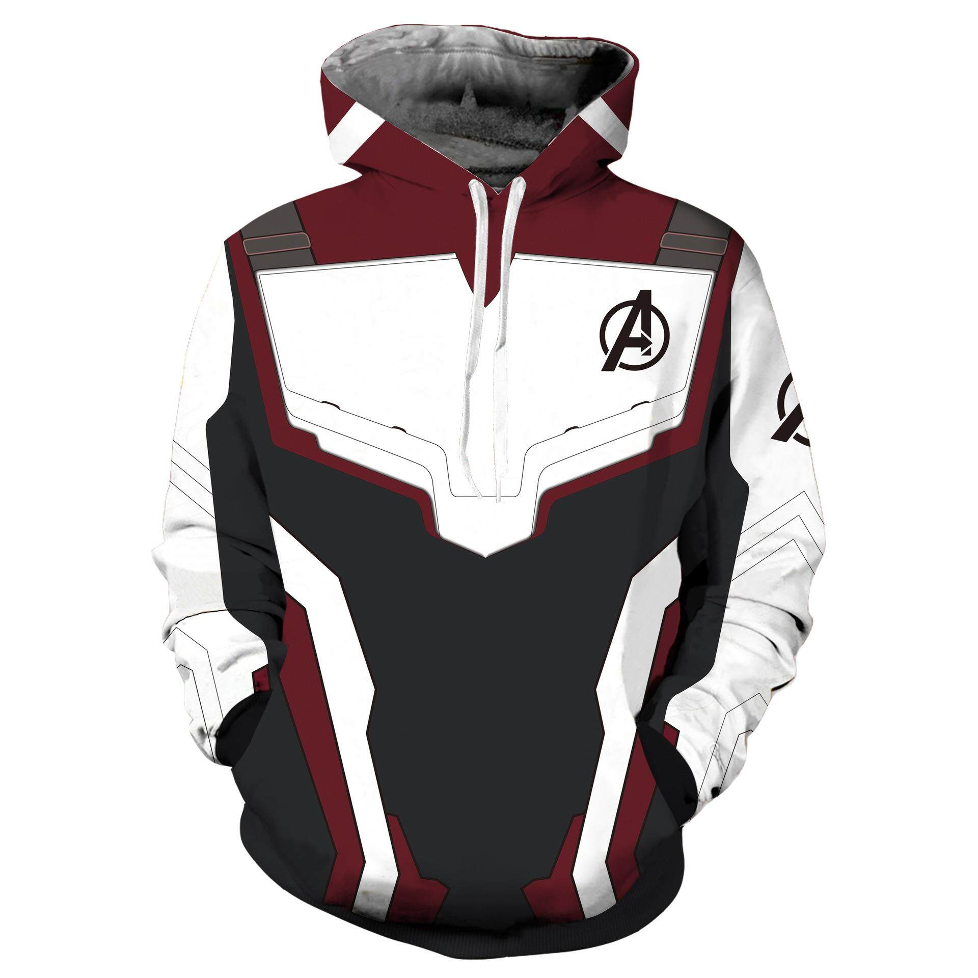 ca84b489 The Avengers 4 Endgame Quantum Realm Sweatshirt Jacket Advanced Tech  Superhero Iron Man Hoodies Suit