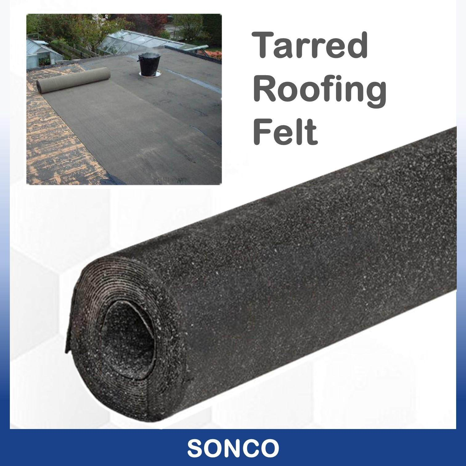 Tarred Heavy Duty  Waterproof Roofing Felt Underground protection House black roofing