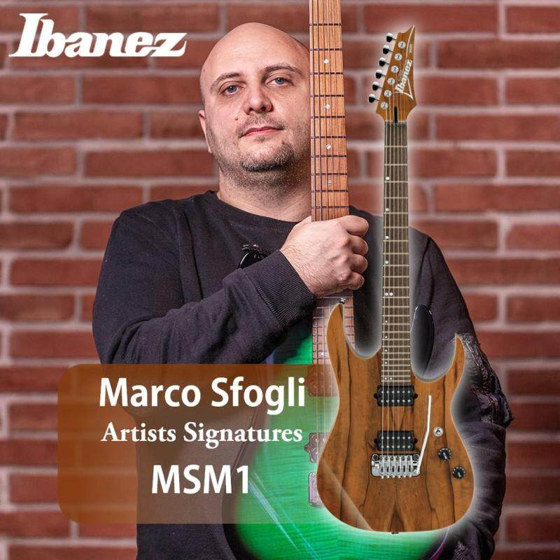 Ibanez MSM1 Premium Marco Sfogli Signature Model Electric guitar Malaysia