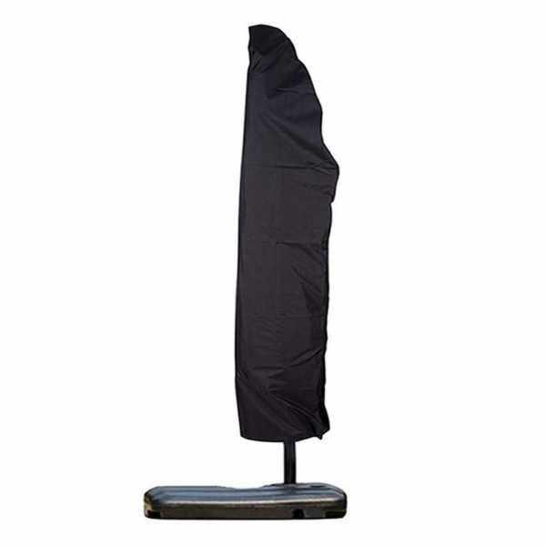Outdoor Patio Umbrella Cover with Zipper Rainproof Windproof Fits for 9 to 13FT Cantilever Parasol Umbrella (Standard)