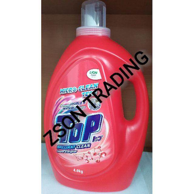 Top Liquid Detergent Brilliant Clean 4Kg