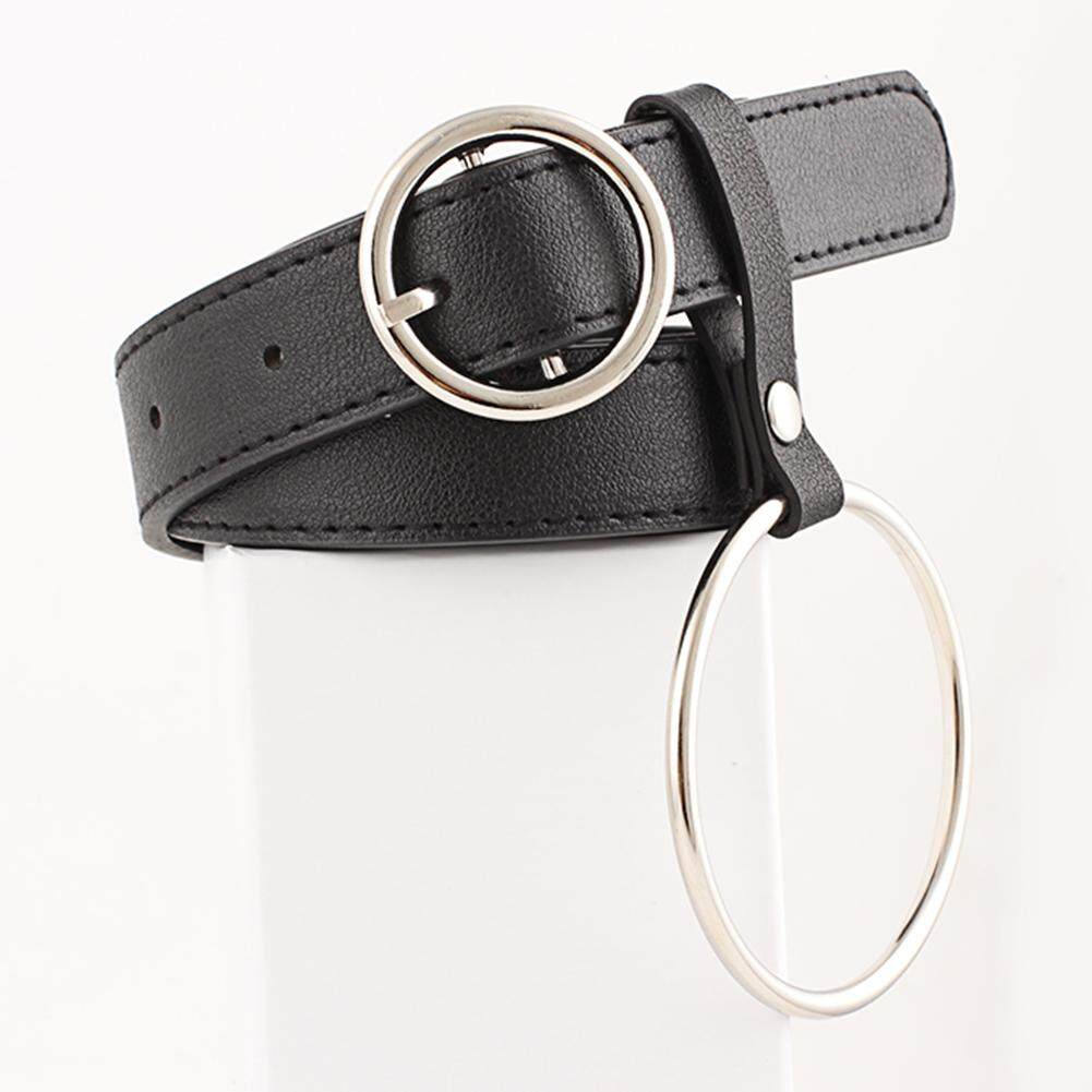978d84a80 Womens Fashion Casual Ring Leather Belt Ladies Pin Buckle PU Belt