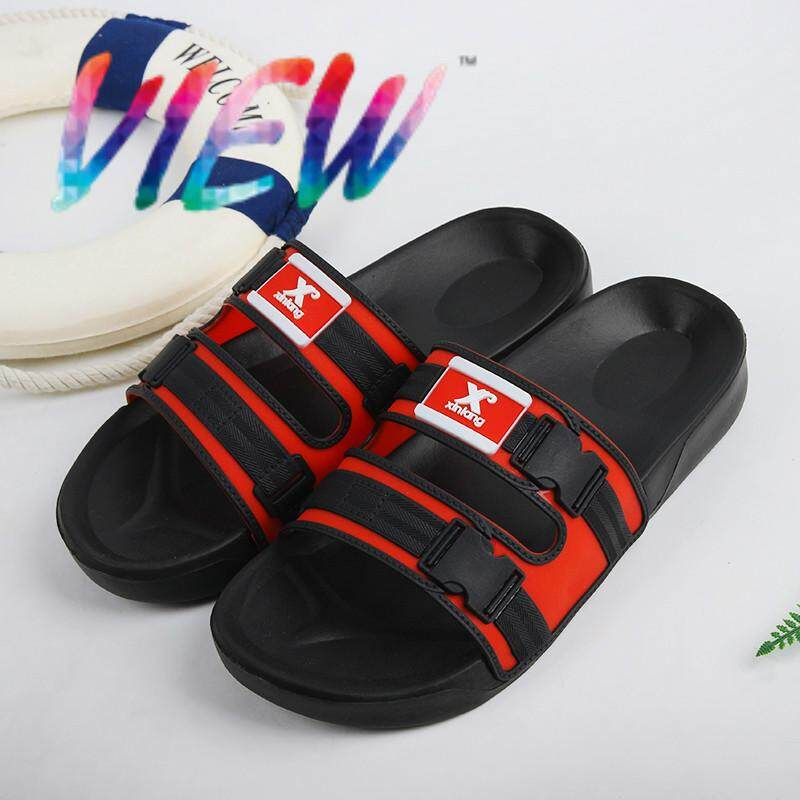 77bdd8d763da VIEW Slippers Men s Fashion 2019 New Slipper Beach Slippers Indoor  Slip-proof Outdoor Slippers Men s