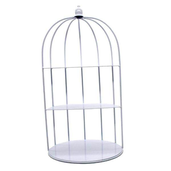 Fityle 3 Tier Bird Cage Shaped Wedding Party Dessert Stands-Cupcake Stand