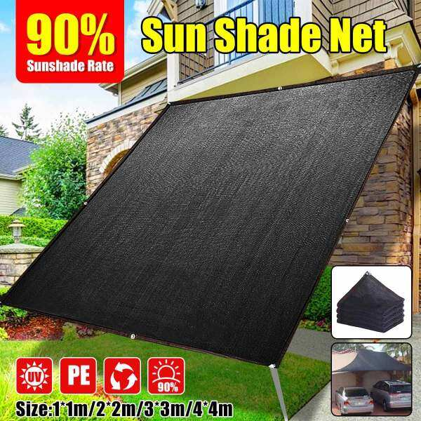 【3 Days Delivery】2 Colors 90% Sunscreen Awning Canopy Sunshade Sun Net Greenhouse Garden Net Sun Rain UV Protection for Car Outdoor Gardens Lawns Swimming Pool Parking Lot