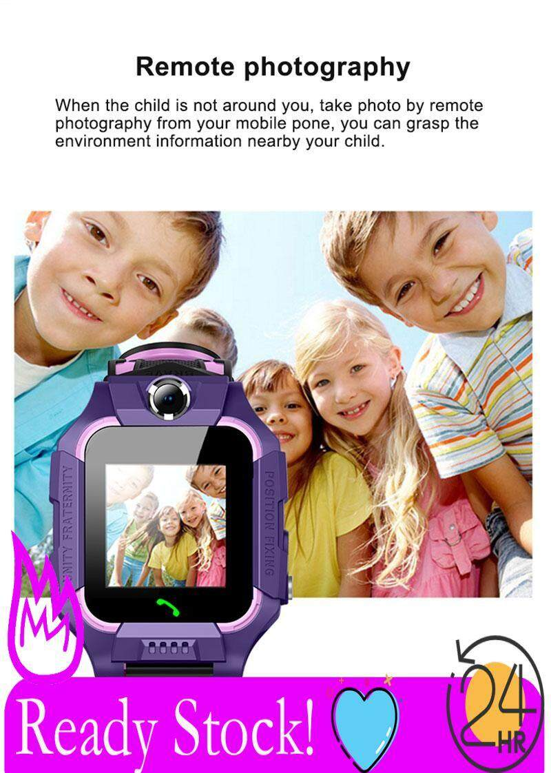 NICEEGOAL Bestseller Free Shipping Z6 Children Smart Watch Touch Camera IP67 Depth Waterproof Positioning Anti-lost Compatiable Android IOS Kids Child Smartwatchs