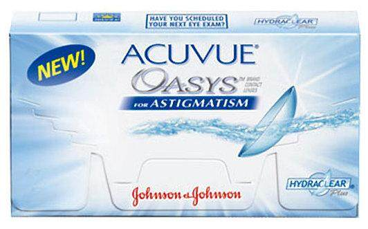 Acuvue Oasys with Astigmatism