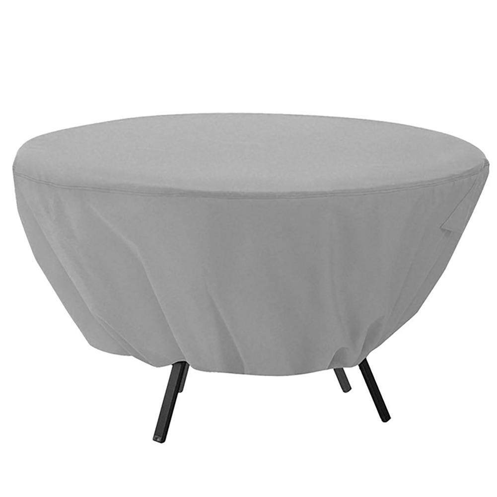 Garden Home Decor Table Protective Sunscreen Outdoor Waterproof Furniture Round Wedding Dust Cover