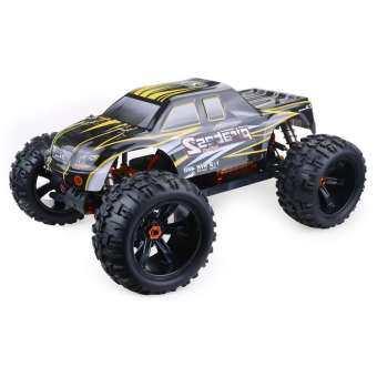 Topacc ZD แข่งรถ 9116 1/8 4WD ไม่แปรงถ่านไฟฟ้ารถบรรทุกโลหะกรอบ Brushless 100 กม./ชม. อาร์ทีอาร์อาร์ซีรถแบตเตอรี่-