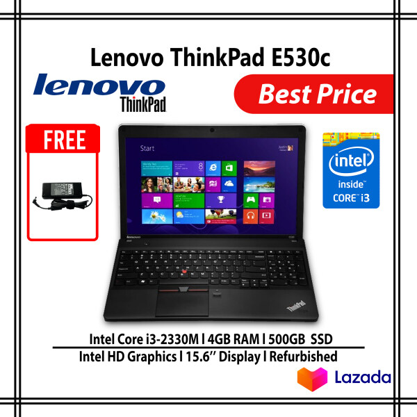 Lenovo ThinkPad E530c Intel Core i3 4GB 500GB HDD, Screen 15.6 Malaysia