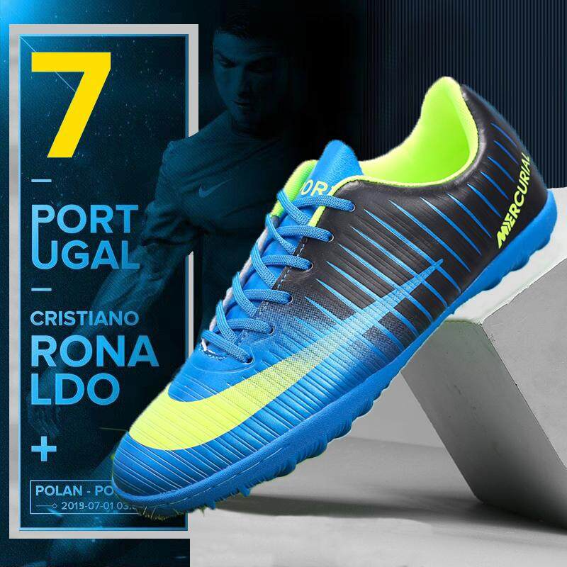 (tf Size 33-44)cr7 Futsal Shoes Turf Boots Footba Shoes By Soccer Shoes
