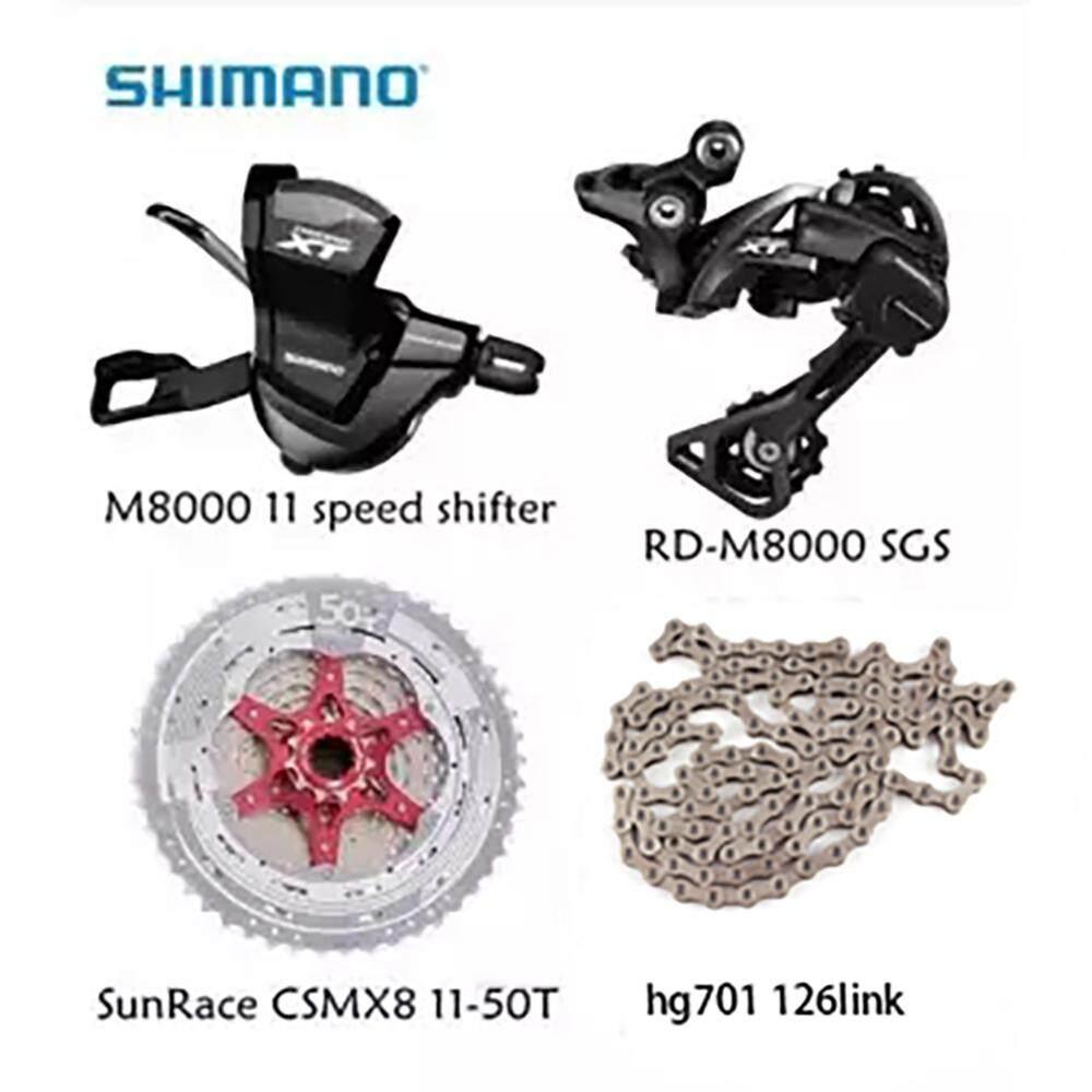 Genuine OEM Shimano Altus M2000 3x9 Speed Shifter Set Black a pair