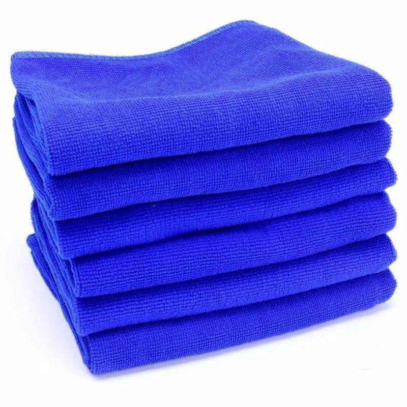 Kosekylin Miễn Phí Vận Chuyển COD 5 Chiếc Khăn Lau Sợi Nhỏ Mềm 30*70 Cm Khăn Lau Xe Tự Động Giặt Khô Vải Ba Lan