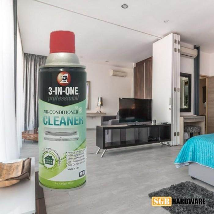 WD40 Air Conditioner Cleaner (3-in-1) - 331mL