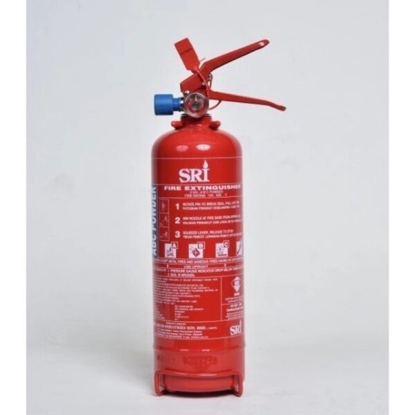 【SRI 2KG】Fire Extinguisher 2KG ABC Dry Powder #FireExtinguisher  #Suitable for car and house