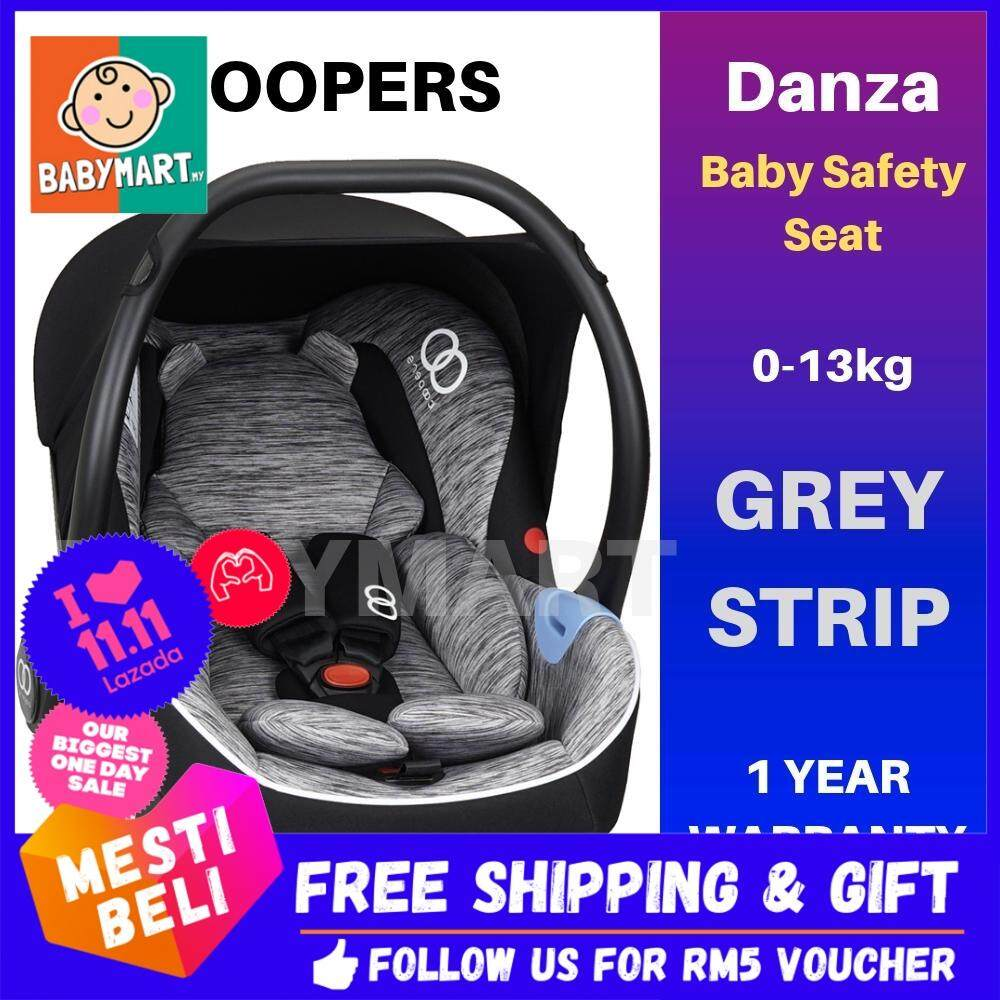 Koopers Danza Infant Baby Carrier Safety Seat Strip Pattern Convertible from New Born Up to 13kg with 1 Year Warranty + FREE GIFT : BABYMART.MY Koopers, Koopers pago, Koopers Lambada, Koopers Lavolta, Koopers Car Seat, Carseat, carseat Baby, Carseat image on snachetto.com