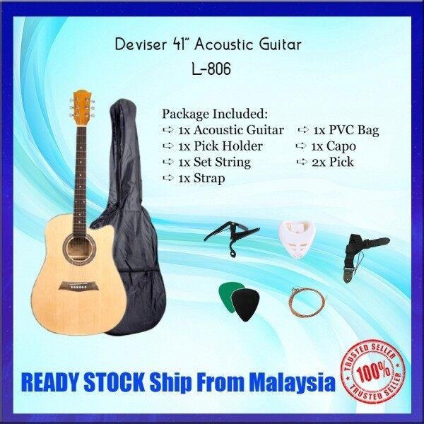 Deviser L-806 Acoustic Guitar Package Set/Combo Set L806 Malaysia