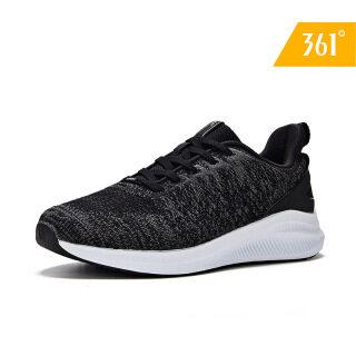 Giày thể thao nữ chất liệu lưới dệt kim thoáng khí nhẹ chân đế cấu tạo chống trơn trượt 361 degrees thumbnail