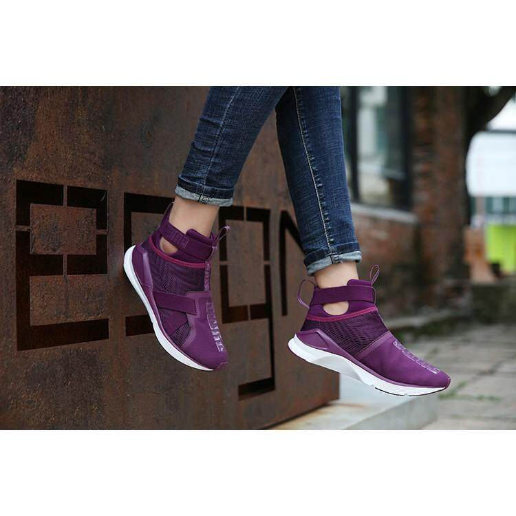 Brand Pumas Fierce Strap Swan joint purple women s training shoes sneakers 6f041312d