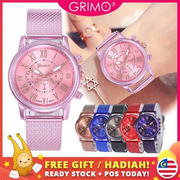 GRIMO Malaysia - Wen-di Magnetic Watch Stainless Steel Woman Jam Tangan Fashion Wrist watch Perempuan Wanita Women Ladies Girls New October 2019 ac11228 Malaysia