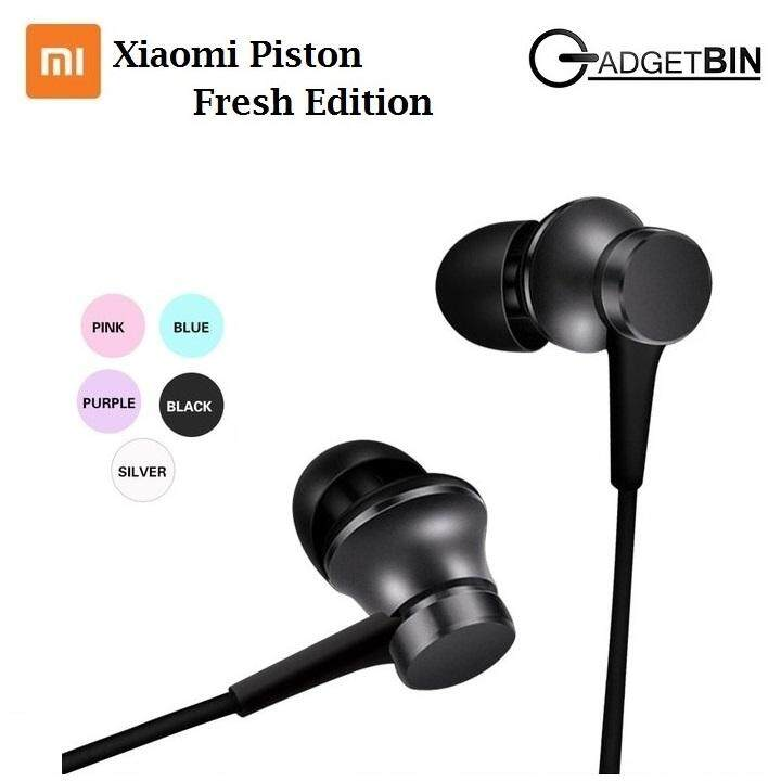 Xiaomi Piston Fresh Edition In-ear Earphones with Mic Headset (Black)
