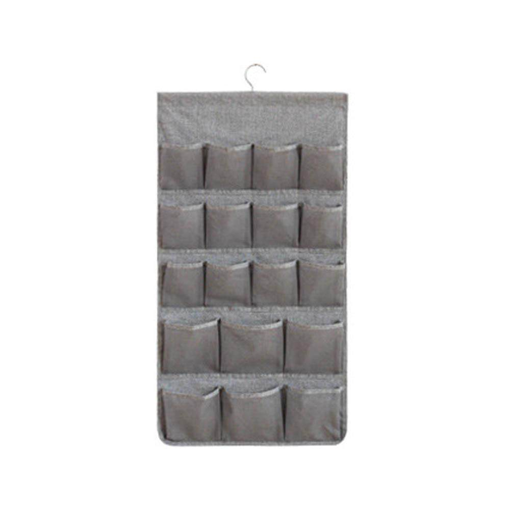 GoodGreat Hanging Storage Organiser, 26 Pockets Wardrobe Organiser Double-sided Space-saving Clothes Organiser