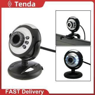 Webcam USB 6 LED HD 12.0 MP Máy Ảnh Có Mic, Tầm Nhìn Ban Đêm Dành Cho Máy Tính Để Bàn Dành Cho Giảng Dạy Cuộc Họp Trực Tuyến Đi Học Tại Nhà thumbnail