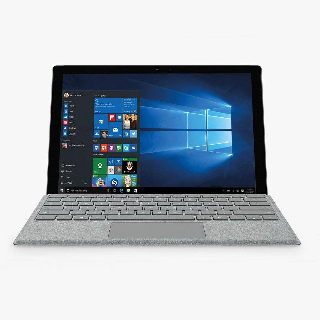 Microsoft Surface Pro 4 Intel Core m3-6th Gen 4 GB RAM 128 GB SSD 12 INCH With Keyboard and BOX  Win 10 Pro 3 Months Warranty Malaysia