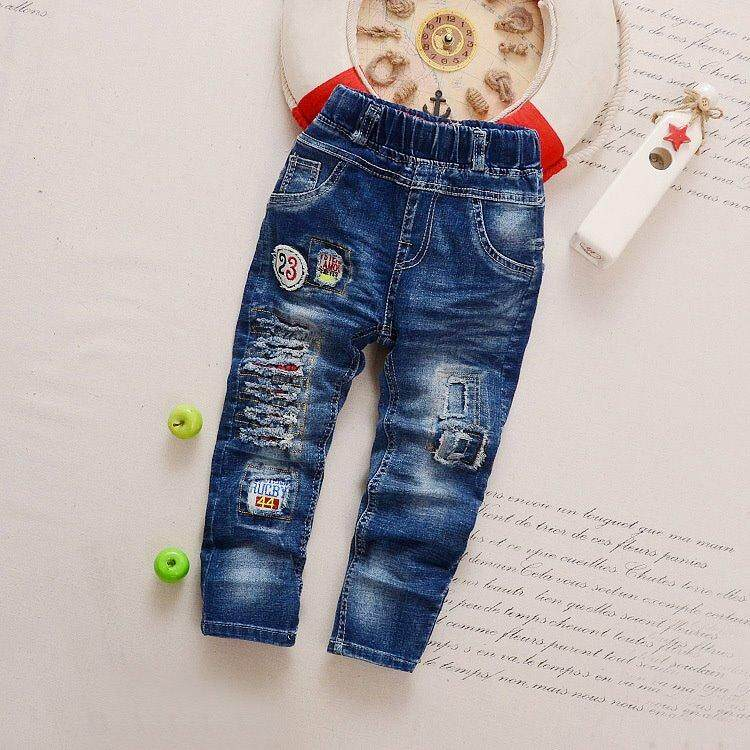 Pants Toddler Jeans Clothes Baby Boys Girls Pants Kids Denim Europe Style 23 Single Pants By Mamizia Kids Store.