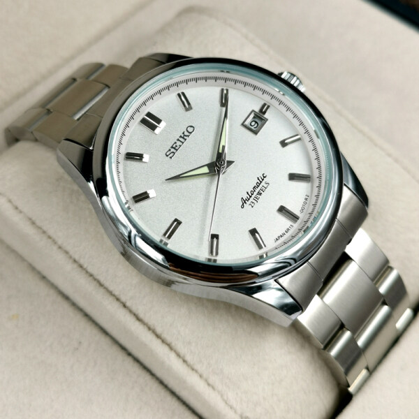 SEIKO5 automatic move men watch S-eiko SARB035 mechanical wrist watches 30M water resistance luminous watch S-E-I-K-O stainless steel satch Malaysia